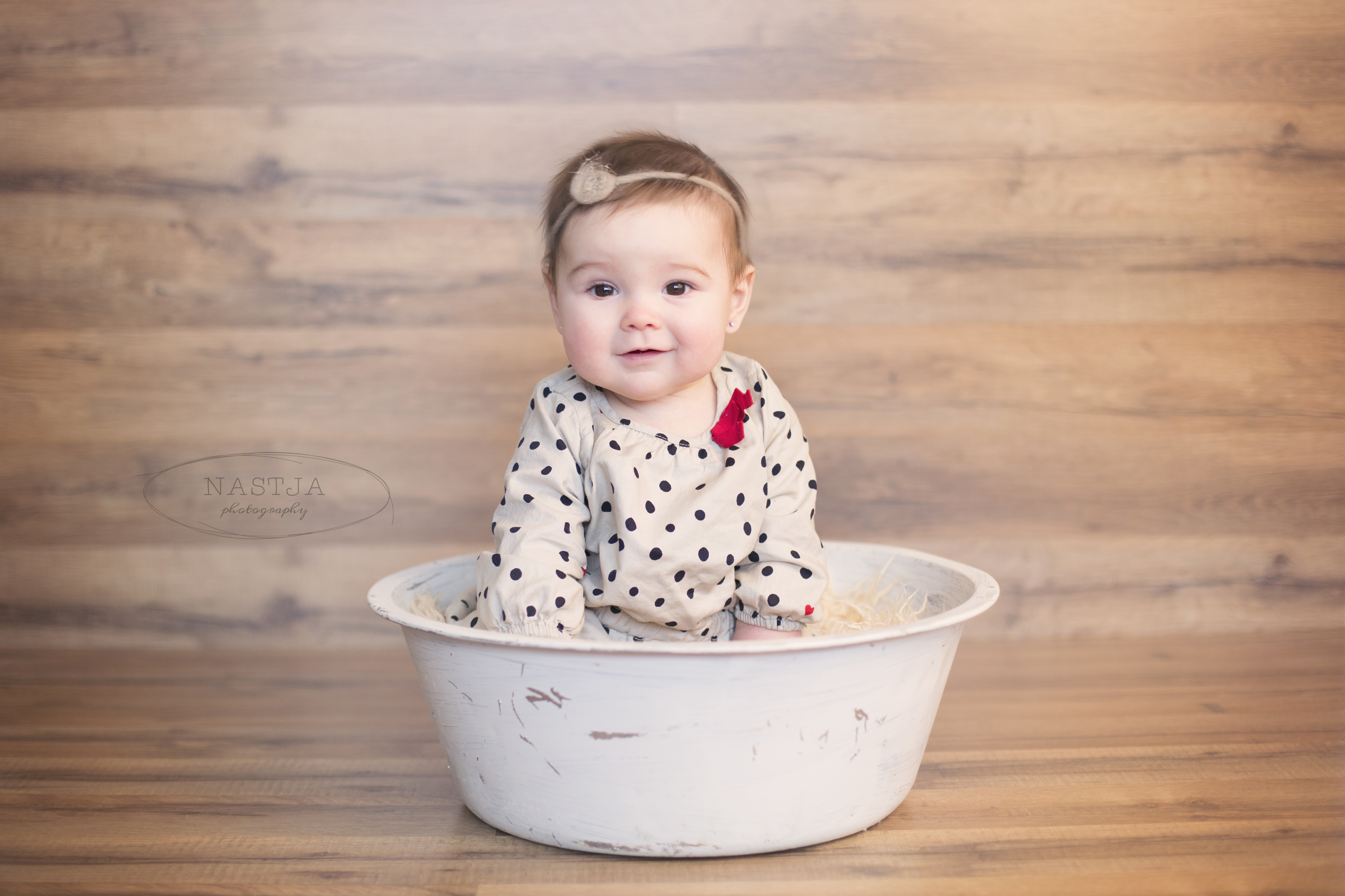 Atlanta Baby Photography 6 Month Old Baby Girl